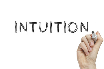 Hand writing intuition