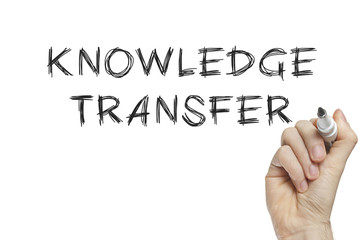 Hand writing knowledge transfer