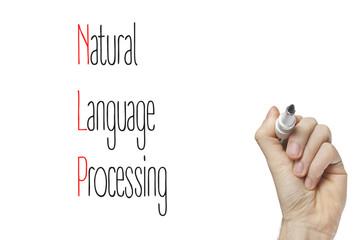 Hand writing natural language processing