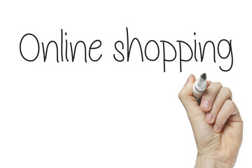 Hand writing online shopping