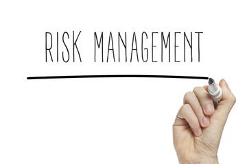 Hand writing risk management