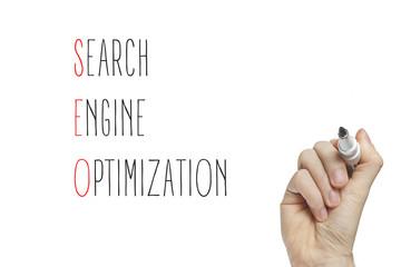 Hand writing search engine optimization