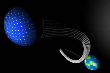 Zonne-energie op de maan