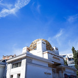 Vienna Secession Building was formed in 1897 by a group of Austr poster