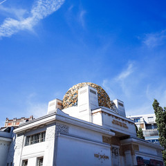 Vienna Secession Building was formed in 1897 by a group of Austr