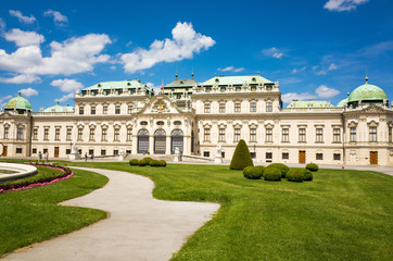 Schoenbrunn Palace, a UNESCO World Heritage Site in Vienna