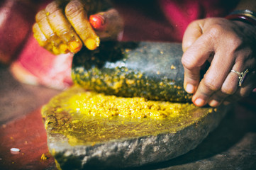 indian wedding ritual haldi