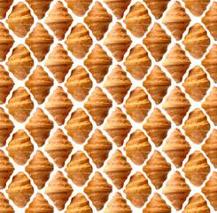 Croissants pattern