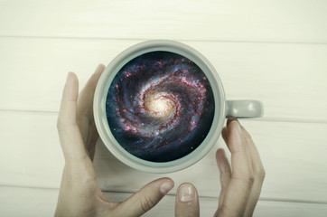 Galaxy in the cup