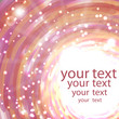 Abstract shimmering background in pink colors with place for you