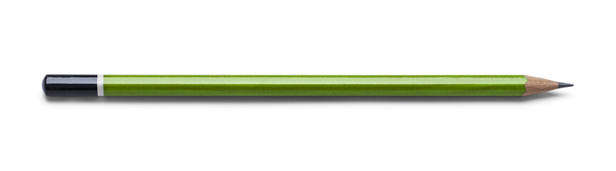 Green Drawing Pencil