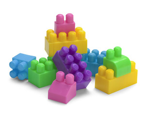Toy Blocks Pile