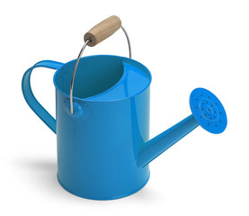 Watering Can Blue