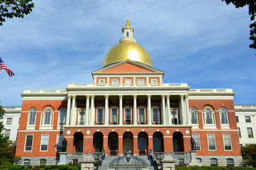 Massachusetts State House, Beacon Hill, Boston, USA