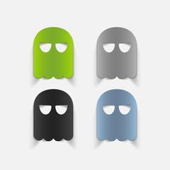 realistic design element: ghost