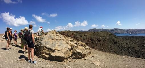 in trekking sul cratere