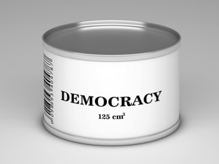 bank with  democracy title