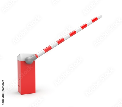 Leinwanddruck Bild Barrier