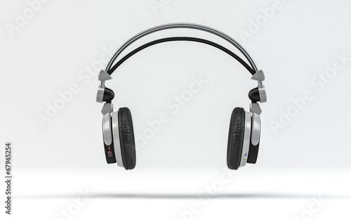 Leinwanddruck Bild Headphone