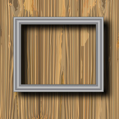 grey metal frame