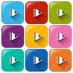 Pause symbol icons