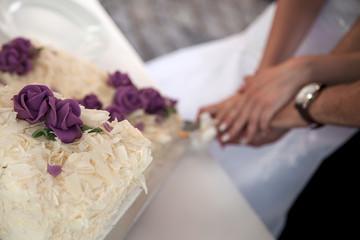 Hochzeitstorten Anschnitt