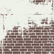 Plastered brick wall - 67966851
