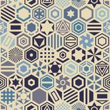 Fototapety Hexagon seamless pattern