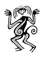 illustration in maya style