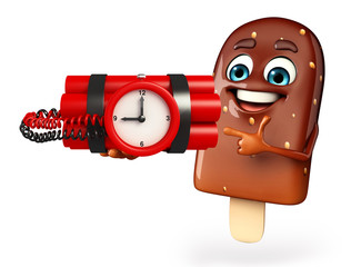 Candy Character With time Bomb