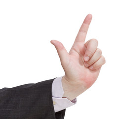 attention sign - hand gesture