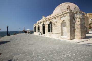 old fort on bund of Rethymno on Crete