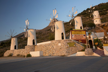 museum of old mills on Crete