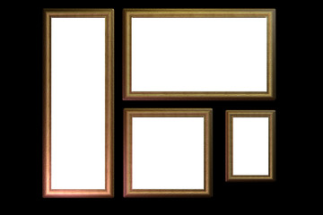 Detailed Picture Frame 04