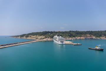 Hafen von Katakolon