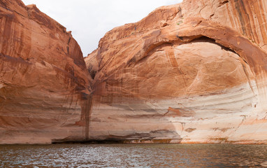 Lake Powell Dry Waterfall