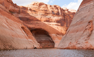 Lake Powell Cove and Cave