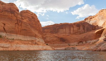 Lake Powell Clouds and Cove