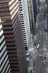 Wall street. Manhattan, New York