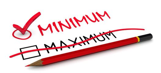 """Отметка """"минимум (minimum)"""".  Концепция изменения заключения"""
