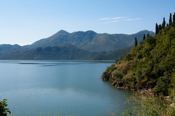 Skadar Lake in Montenegro
