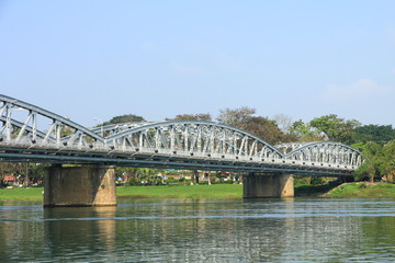 Truong Tien Bridge in Hue, Vietnam