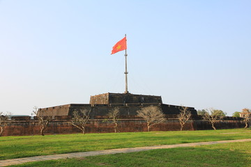 Flag Tower in Hue, Vietnam
