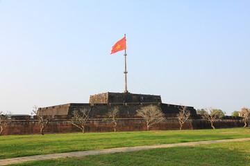 Flag Tower in Hue, Vietnam