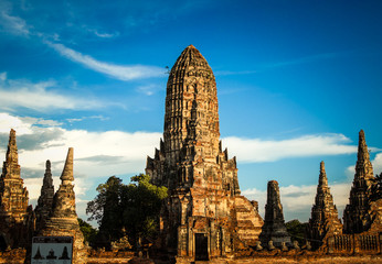 ancient temple of thailand