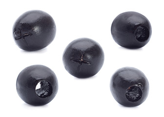 Marinated black olive