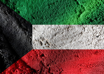 Kuwait flag themes idea design