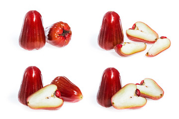 Rose Apple fruit isolated