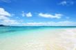 エメラルドグリーンの美しい海