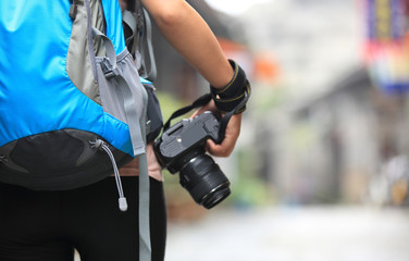 woman photographer in guilin,china